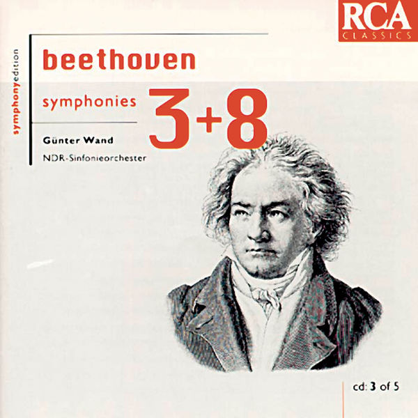 Günter Wand - Beethoven: Symphonies 3 & 8
