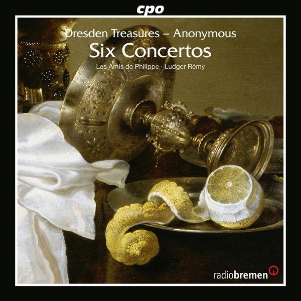 Les Amis de Philippe - Dresden Treasures: 6 Concertos