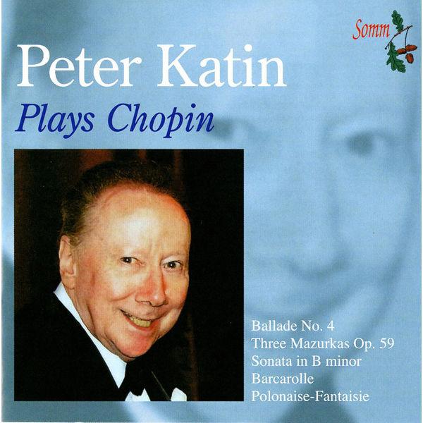 Peter Katin - Chopin: Piano Pieces