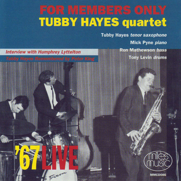 Tubby Hayes - For Members Only
