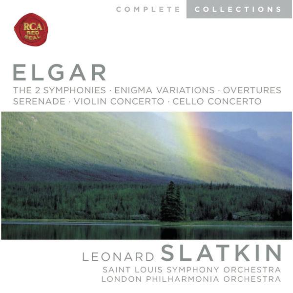 Leonard Slatkin|Elgar : Symphonies - Enigma Variations - Overtures - Serenade - Violin Concerto - Cello Concerto