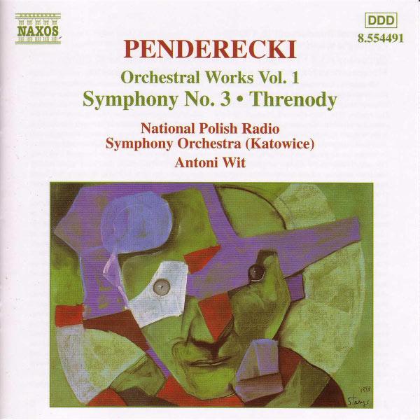 Polish National Radio Symphony Orchestra - PENDERECKI: Symphony No. 3 / Threnody