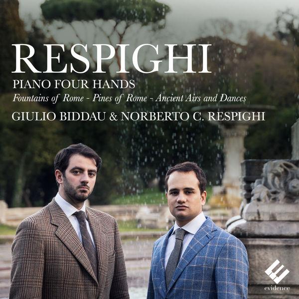 Giulio Biddau - Respighi: Piano Four Hands