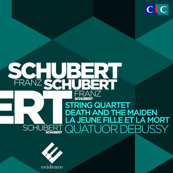 "Quatuor Debussy - Schubert : String Quartet No. 14 ""Death and the Maiden"""