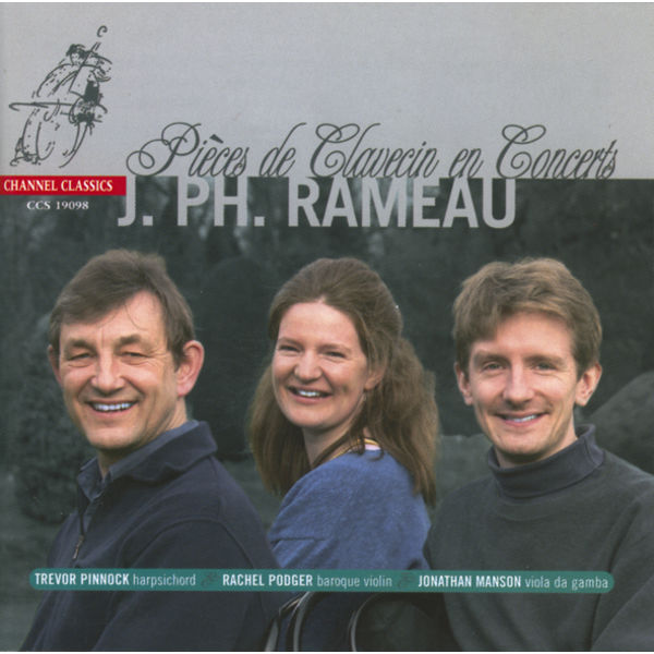 Trevor Pinnock - Jean-Philippe Rameau : Pièces de Clavecin en Concerts