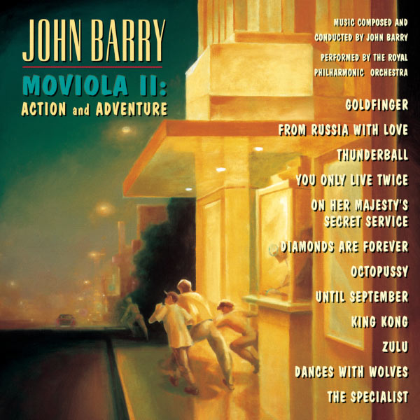 John Barry - Moviola II: Action And Adventure