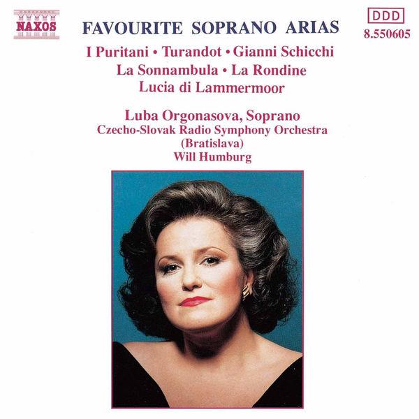 Luba Orgonasova - Favourite Soprano Arias