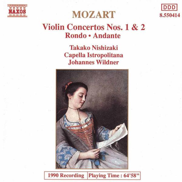 Takako Nishizaki - MOZART: Violin Concertos Nos. 1 and 2