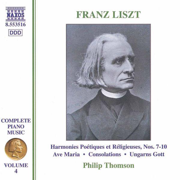 Philip Thomson - Musique pour piano (Intégrale, volume 4)