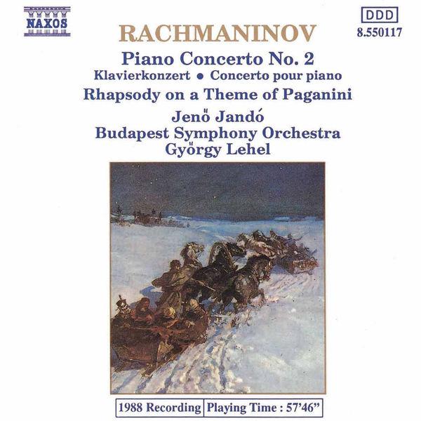Jeno Jando - Rachmaninov: Piano Concerto No. 2 / Rhapsody On A Theme of Paganini