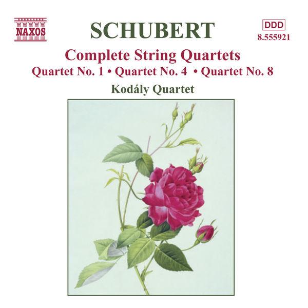 Kodaly Quartet - Schubert: String Quartets (Complete), Vol. 4