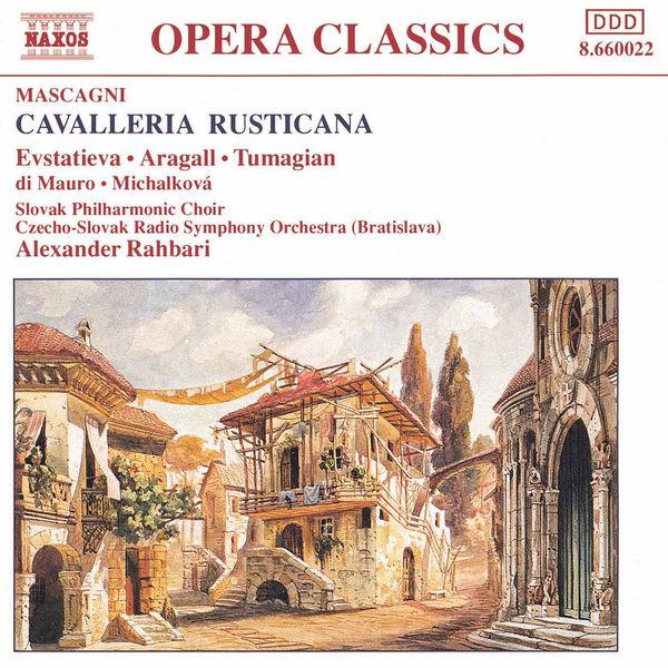 Giacomo Aragall - MASCAGNI: Cavalleria Rusticana