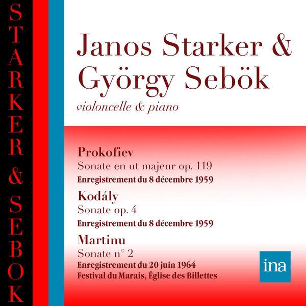 Janos Starker - Œuvres de Prokofiev, Kodaly & Martinu