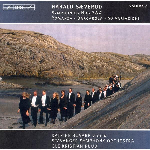 Katrine Buvarp - SAEVERUD: Symphonies Nos. 2 and 4