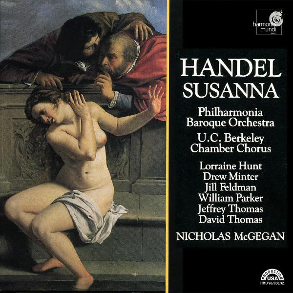 Philharmonia Baroque Orchestra, Nicholas McGegan - Handel: Susanna