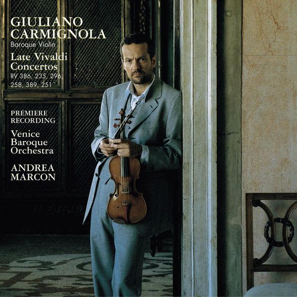 Giuliano Carmignola - Antonio Vivaldi : Violin Concertos