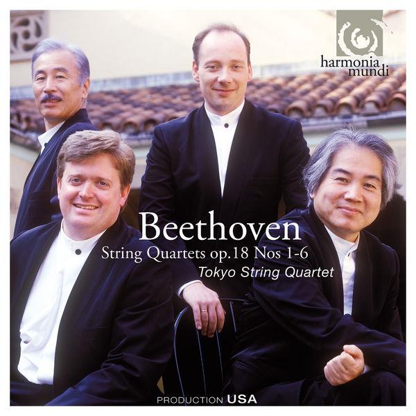 Tokyo String Quartet - Beethoven: String Quartets Op. 18, No. 1-6