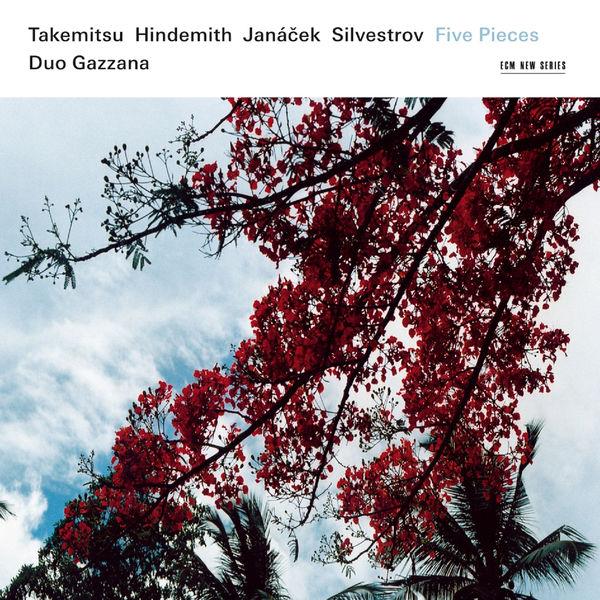 Duo Gazzana - Takemitsu, Hindemith, Janácek, Silvestrov: Five Pieces