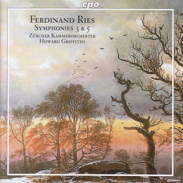 Howard Griffiths|Ries: Symphonies Nos. 3 and 5