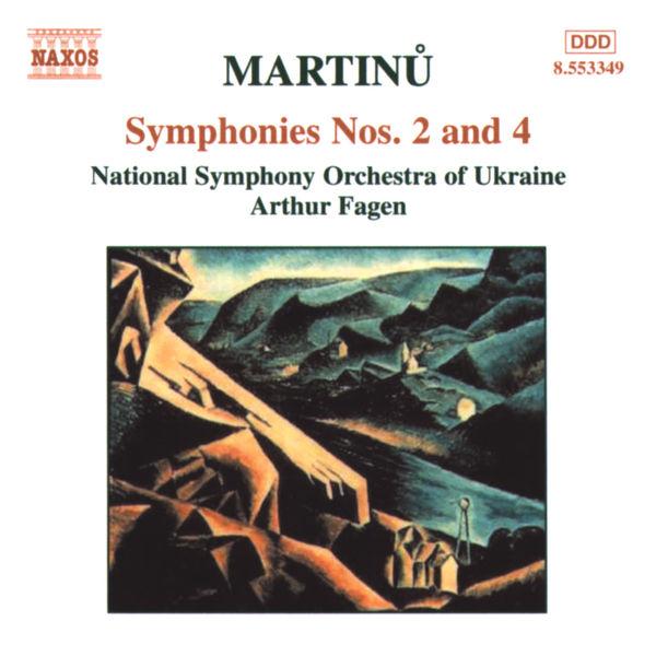 Ukraine National Symphony Orchestra - Symphonies Nos. 2 and 4