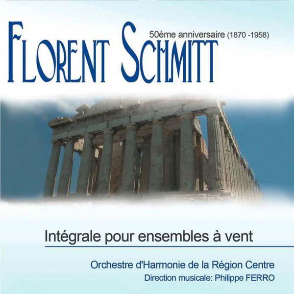Orchestre D'harmonie De La Region Centre - Integrale Pour Ensembles A Vent