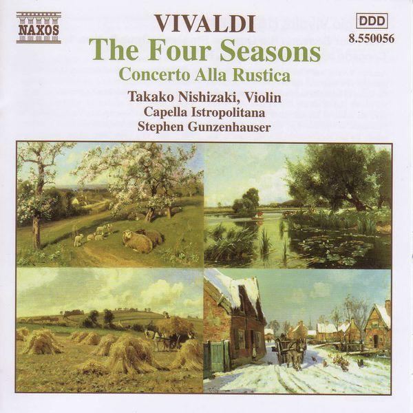 Takako Nishizaki - VIVALDI: 4 Seasons (The) / Concerto alla Rustica