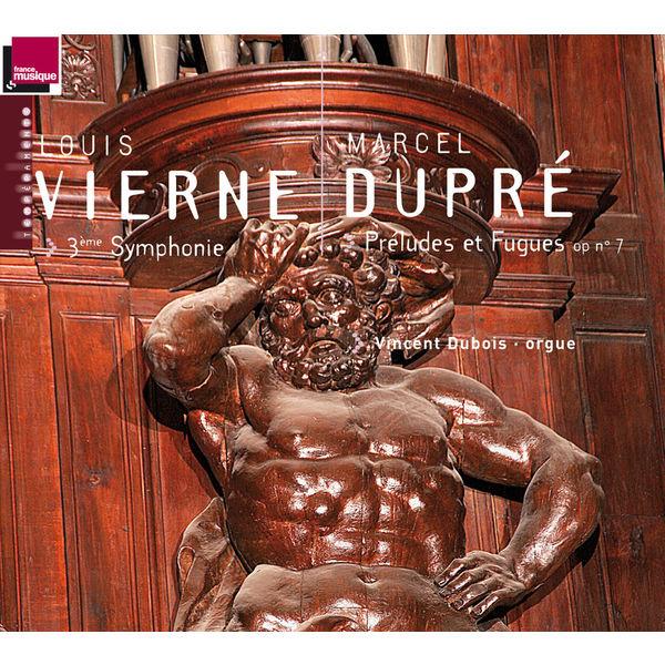 Vincent Dubois - Vierne: 3ème Symphonie - Dupré: Préludes et Fugues, Op. 7 (orgue A. Cavaillé-Coll de l'Abbatiale St-Etienne de Caen)