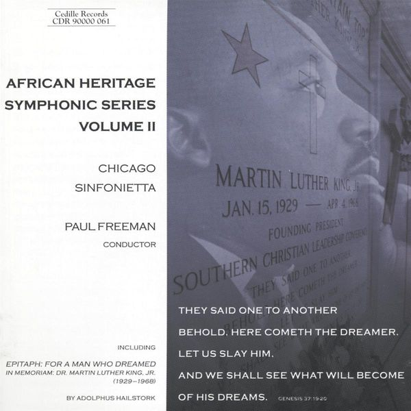 Chicago Sinfonietta - African Heritage Symphonic Series (Volume 2)