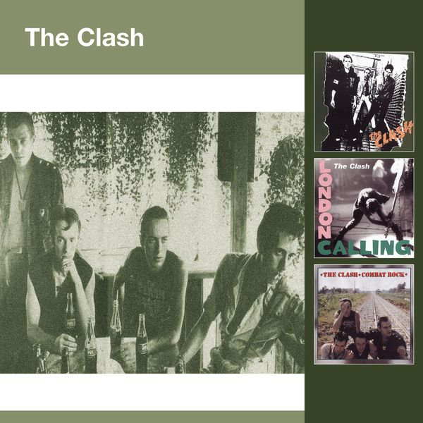 The Clash - The Clash (UK Version)  - London Calling - Combat Rock