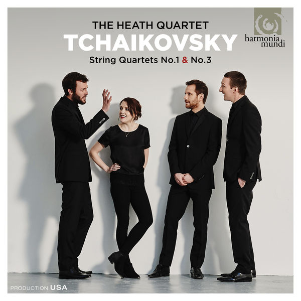 Heath Quartet - Tchaikovsky : String Quartets Nos. 1 & 3
