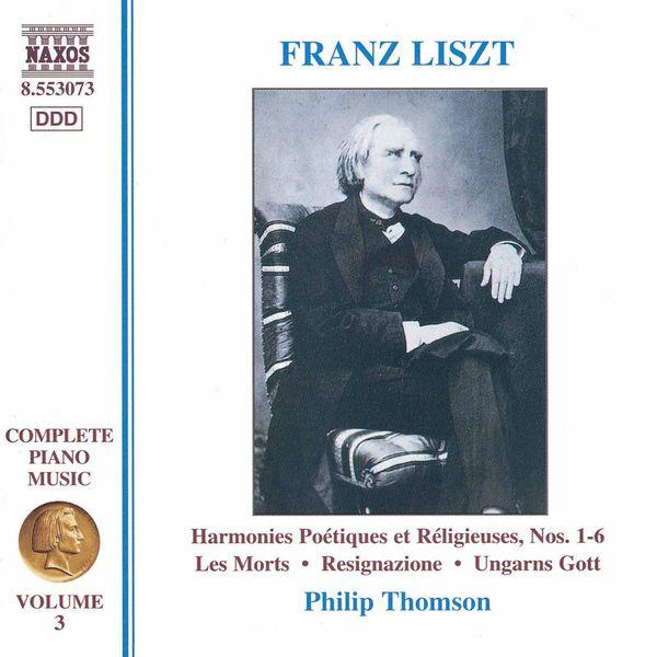 Philip Thomson - Musique pour piano (Intégrale, volume 3)