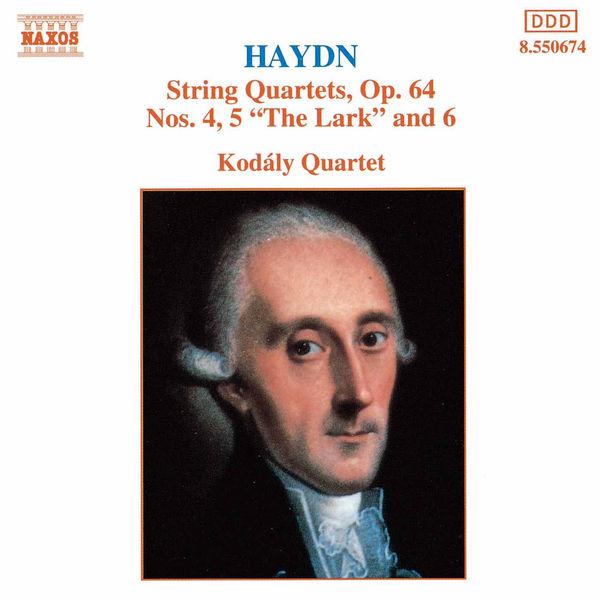 Kodaly Quartet - Haydn: String Quartets Op. 64, Nos. 4 - 6