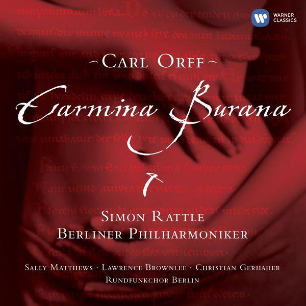 Sir Simon Rattle - Orff: Carmina Burana (Édition StudioMasters)