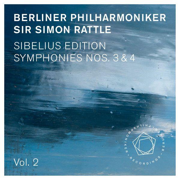 Berliner Philharmoniker - Jean Sibelius: Symphonies Nos. 3 & 4 (Surround Sound 5.0 Edition)