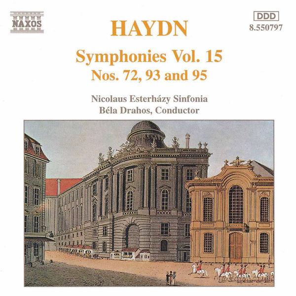 Béla Drahos - Symphonies (Volume 15)