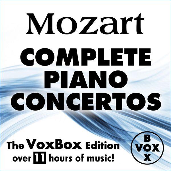 Alfred Brendel - MOZART: Complete Solo Piano Concertos (The VoxBox Edition)
