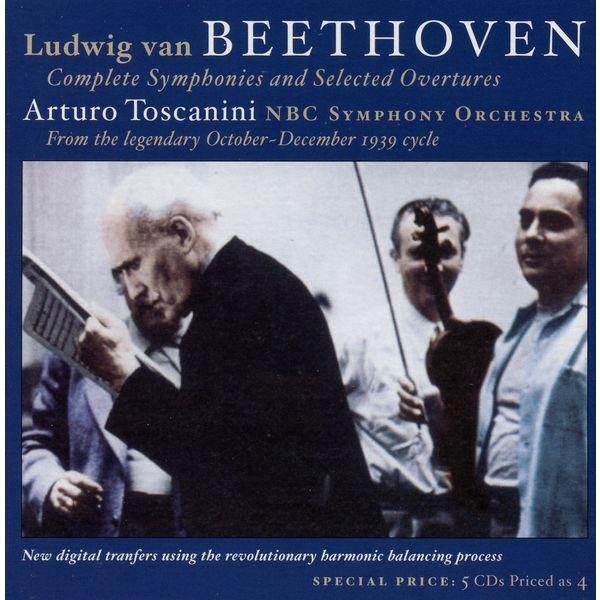 Arturo Toscanini - Ludwig van Beethoven: Complete Symphonies & Selected Overtures (1939)