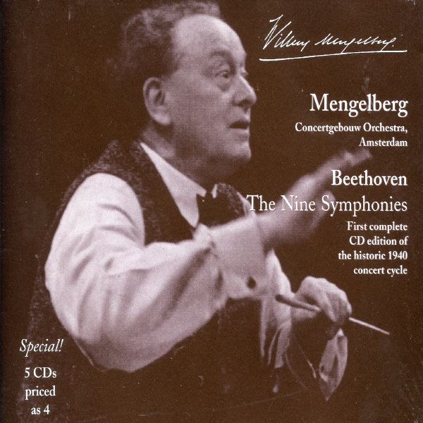 Various Artists - Mengelberg Conducts Beethoven: The Nine Symphonies and Selected Overtures (1940, 1943)