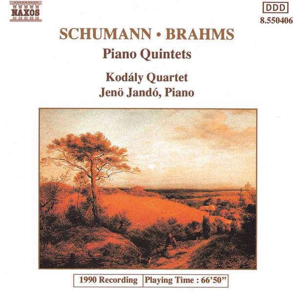 Kodaly Quartet - Schumann & Brahms: Piano Quintets