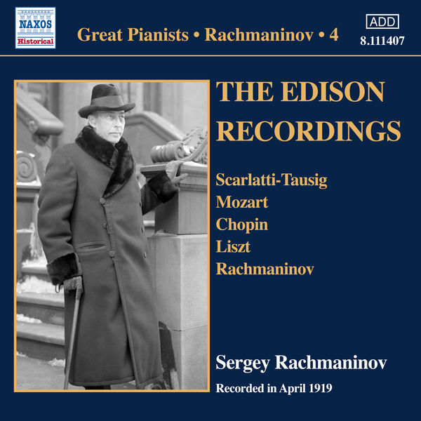Serge Rachmaninoff - Rachmaninov : Piano Solo Recordings, Vol. 4