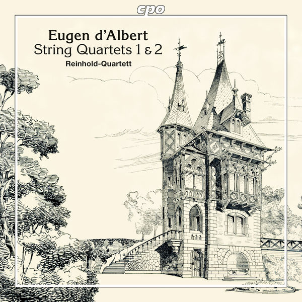 Reinhold Quartett Albert: String Quartets Nos. 1 & 2