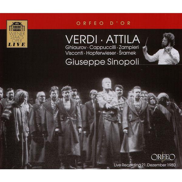 Giuseppe Sinopoli - Verdi : Attila