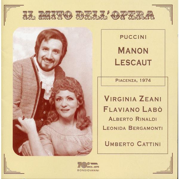 Alberto Carusi - Il mito dell'opera: Manon Lescaut (Live)