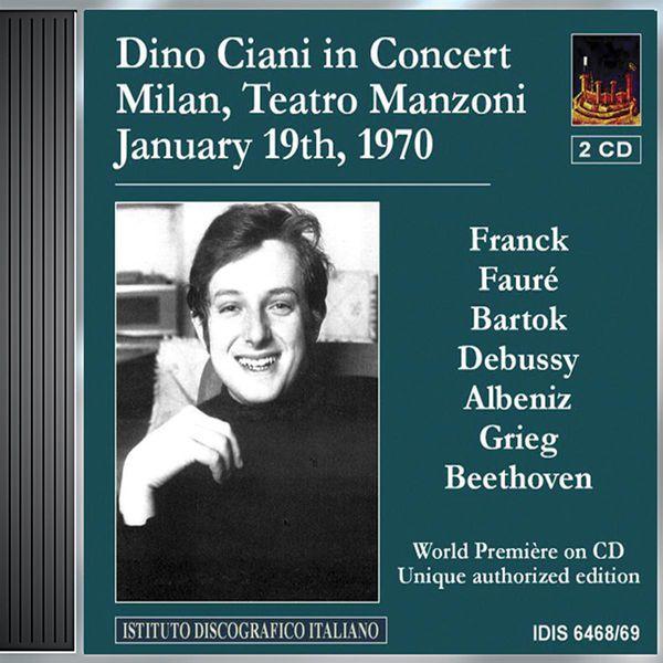 Dino Ciani - Ciani, Dino: Concert in Teatro Manzoni, Milan (19 January 1970)
