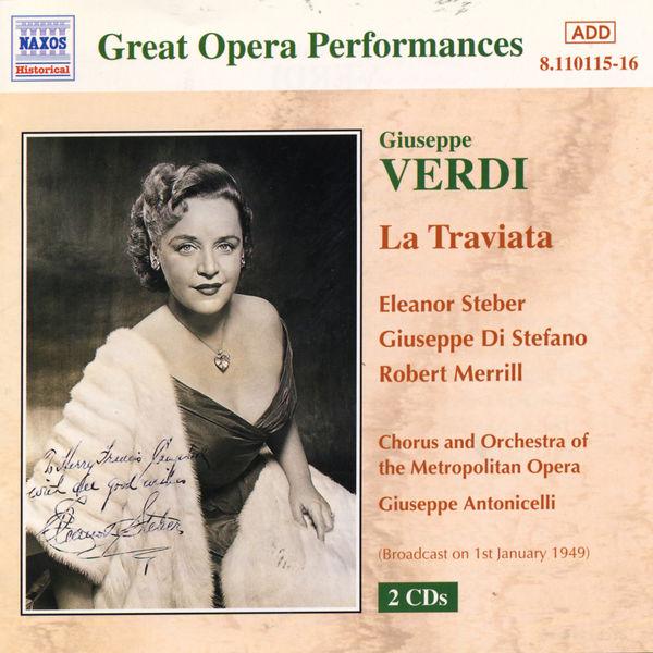 Eleanor Steber - Traviata (La) (Metropolitan Opera) (1949)