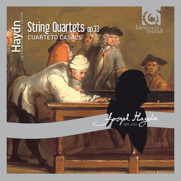 Cuarteto Casals - Haydn: String Quartets op.33