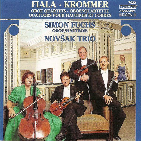 Simon Fuchs - Krommer, F.: Oboe Quartets Nos. 1 and 2 / Fiala, J.: Oboe Quartets in E Flat Major / F Major