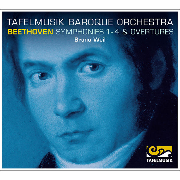 Tafelmusik Baroque Orchestra - Beethoven: Symphonies 1-4, Overtures