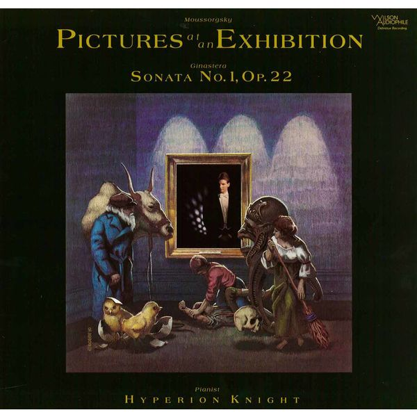 Hyperion Knight - Mussorgsky: Pictures at an Exhibition - Ginastera: Piano Sonata No. 1, Op. 22
