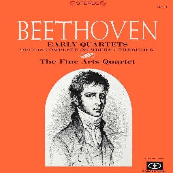 Fine Arts Quartet - Beethoven: Early Quartets (Remastered from the Original Concert-Disc Master Tapes)